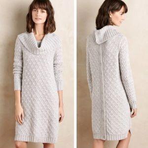 NWT Anthropologie Sparrow Cowl Neck Sweater Dress